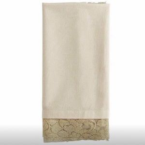 Other - New - 4 Gold Lace Napkins